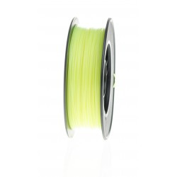 PLA Filament Crystal Yellow fluorescence