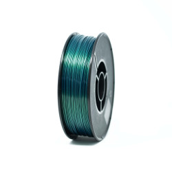 PETG-Filament green blue metallic