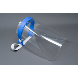 Kit for Face Shield Mask with two transparent Sheets