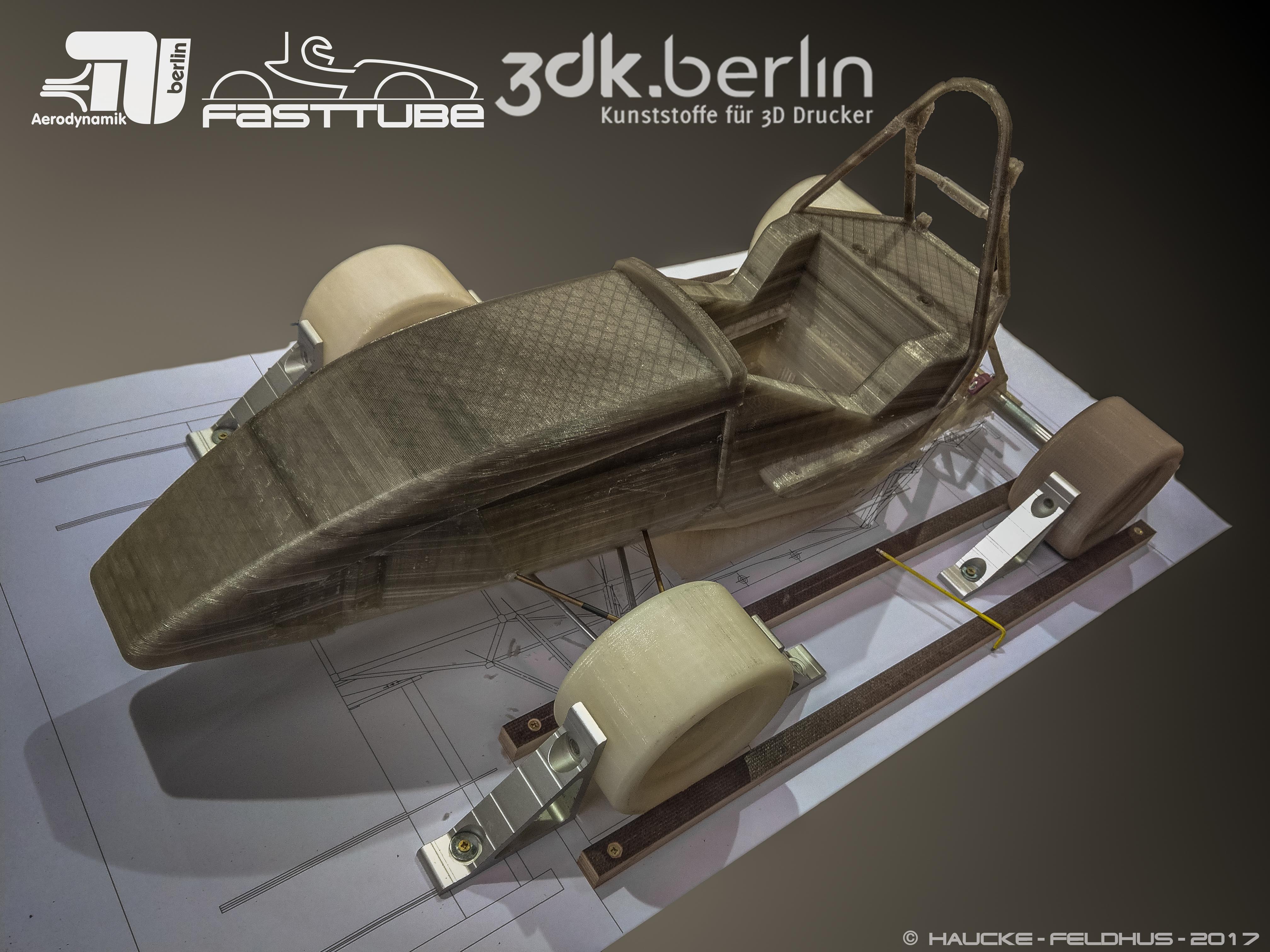 Unser 3D gedrucktes Modell des FT18c