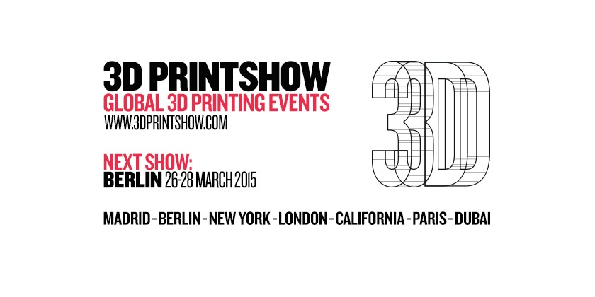 3dk.berlin on the 3D Printshow 26.-28. 3. 2015