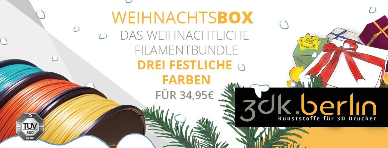 Weihnachstbox Filamentbundle