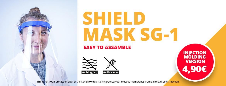 Sprizschild Maske Spritzguss SG-1